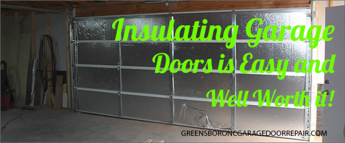 greensboro nc garage door insulation